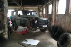 """Reifenwechsel mit Custom """"Wolf"""" G - Umrüstung auf DOTZ Dakar"""