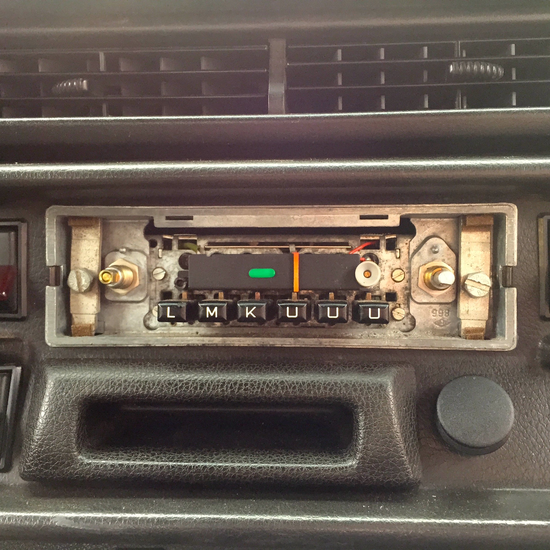 Becker Europa 460 eingebaut