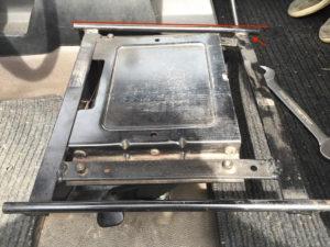Klappkonsole Fahrersitz defekt 1