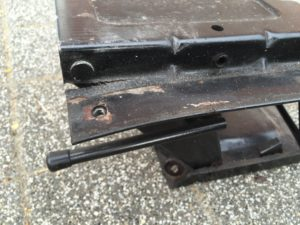 Klappkonsole Fahrersitz defekt 3