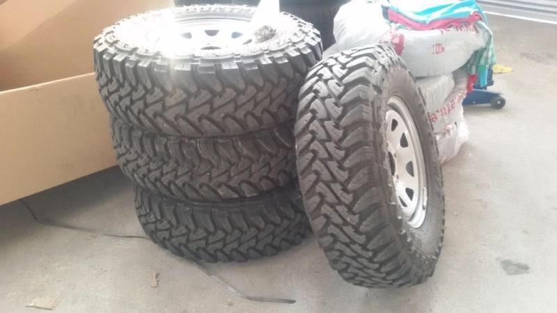 DOTZ Dakar Toyo 265/75R16