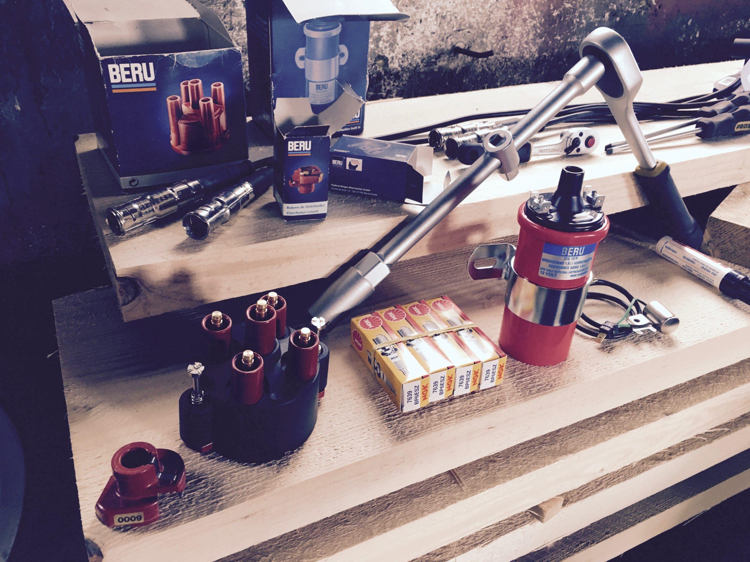 Zuendanlage erneuert - Ersatzteile