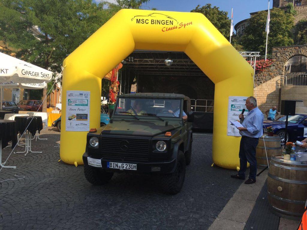 MSC Bingen Maeuseturm Classic 2016 - Zieldurchfahrt
