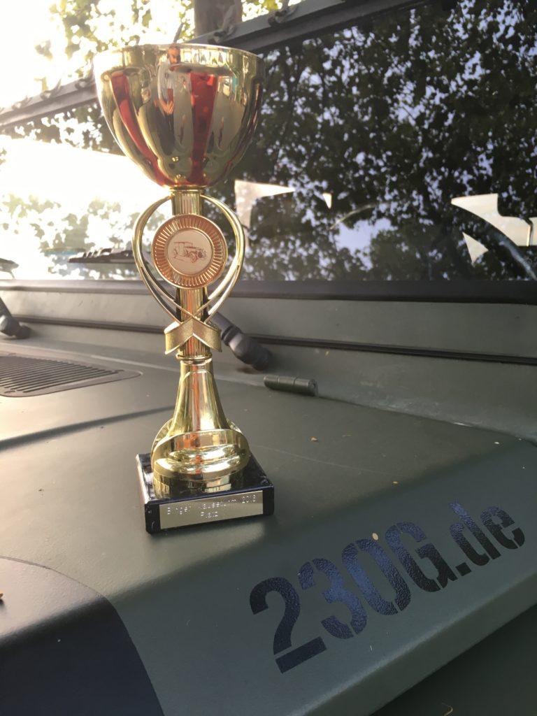 MSC Bingen Maeuseturm Classic 2016 - Pokal