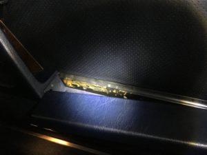 1. Bestandsaufnahme Interieur Beifahrertür innen