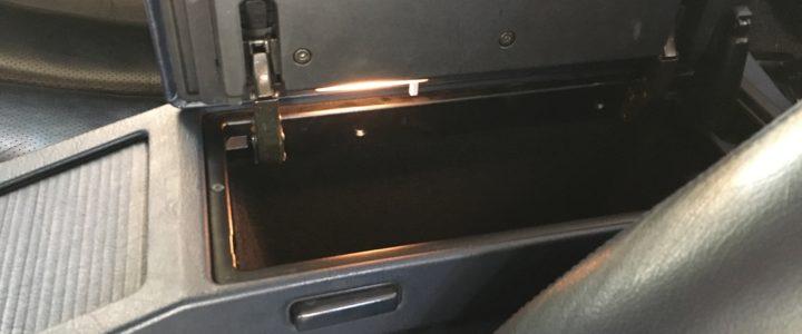 R129 Mittelkonsole Beleuchtung