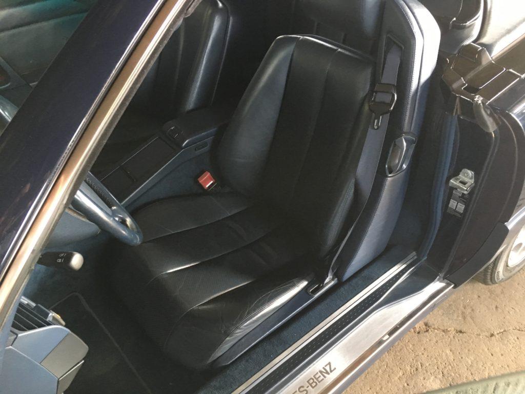 R129 Fahrersitz ersetzt
