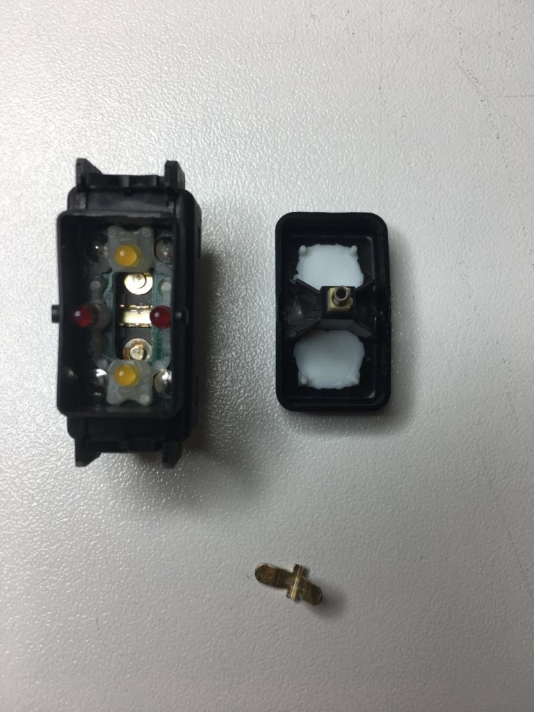 A1298206410 Schalter Überrollbügel R129