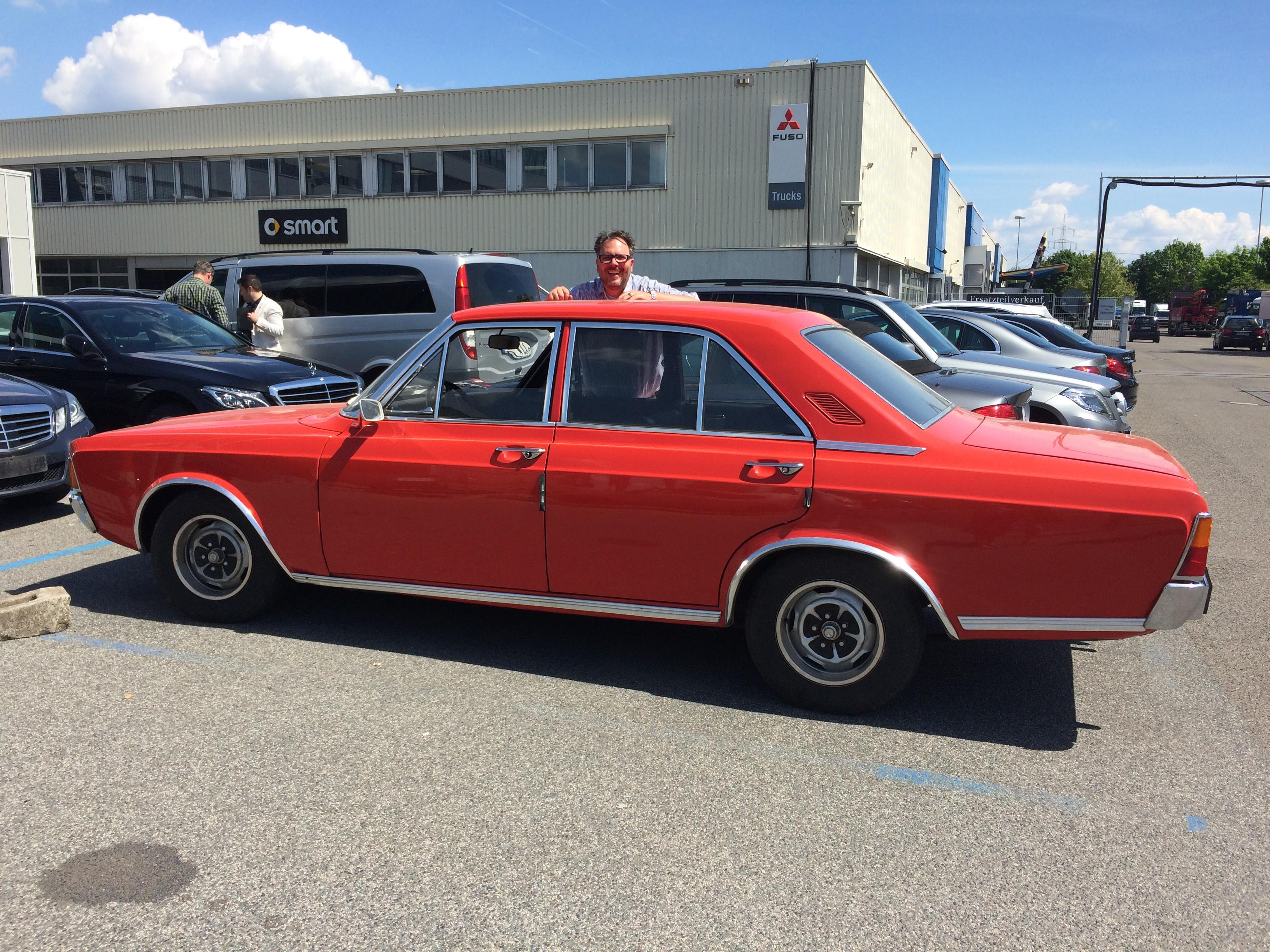 Hochzeitstag markus 39 garage 71 39 ford 17m p7b blog for Garage ford auch