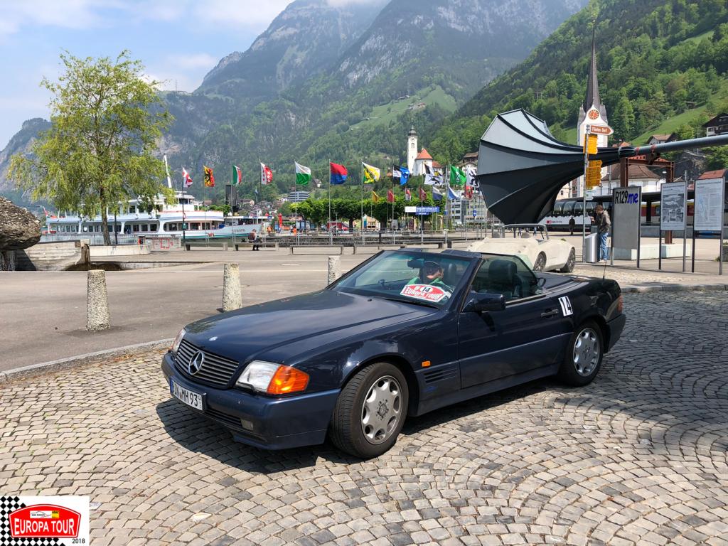 EuropaTour 2018 - Tag 2 - Füelen - Vierwaldstädtersee - Schweiz