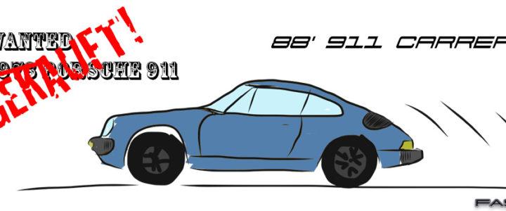 Porsche 911 - 1988 - Wanted