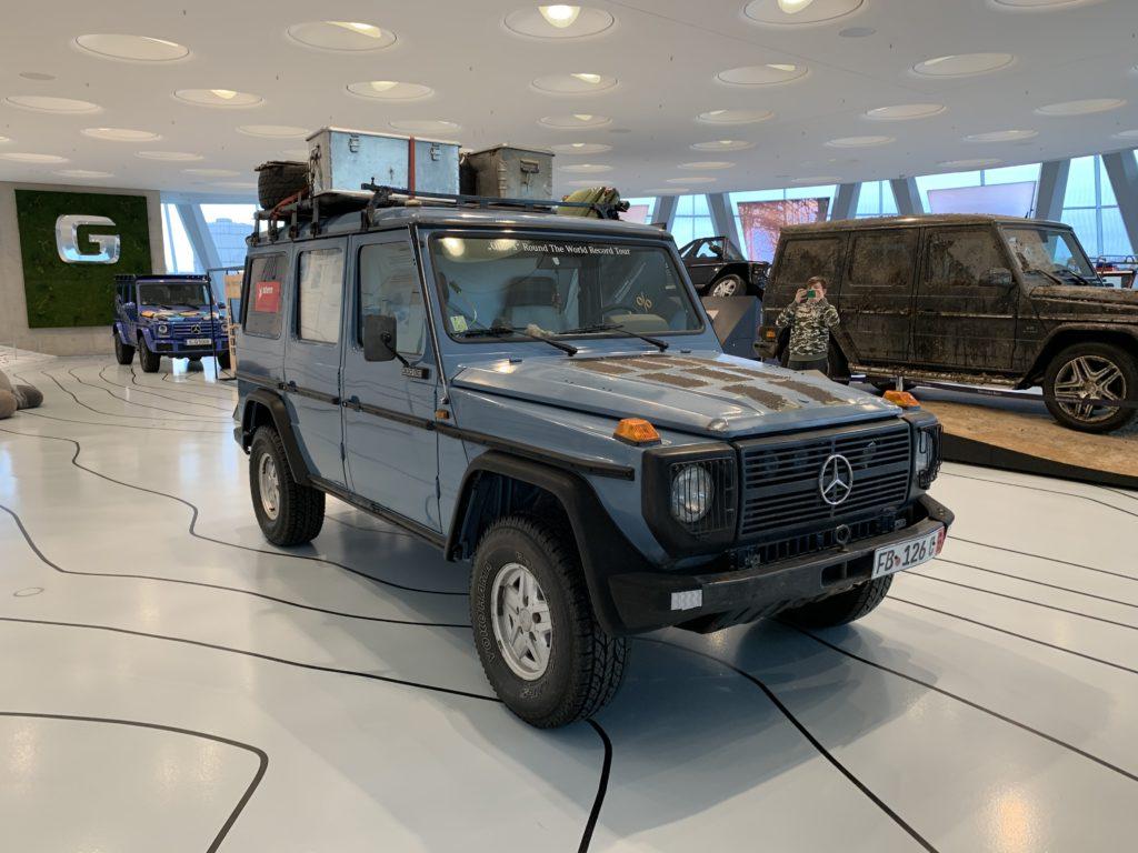 Mercedes-Benz Museum, Sonderausstellung 40 Jahre G-Klasse, OTTO