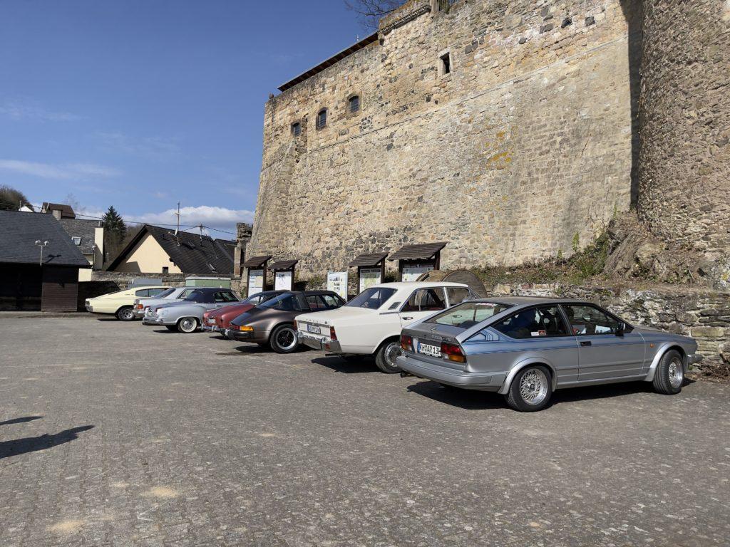 8. Bertha's Enkel Landpartie - Schloss Dhaun