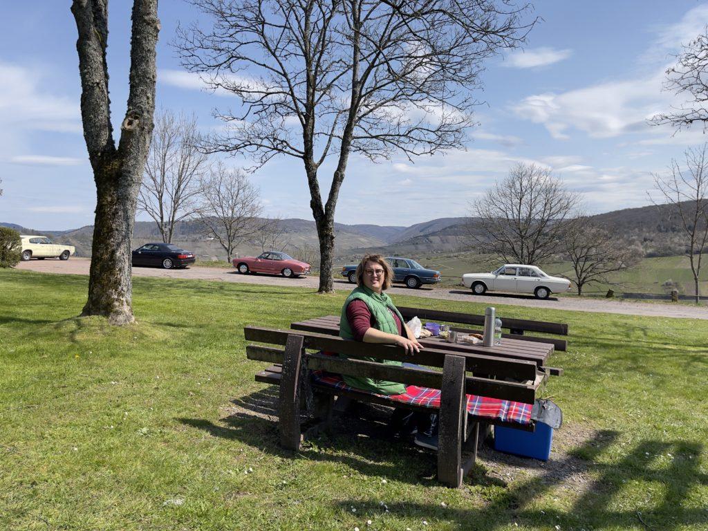 8. Bertha's Enkel Landpartie - Picknick - Mosel