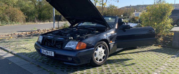 Einmotten R129 - Motor ohne Leistung